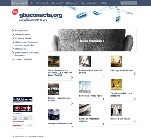 GBU Conecta website