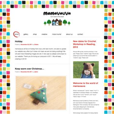Mamavauva website